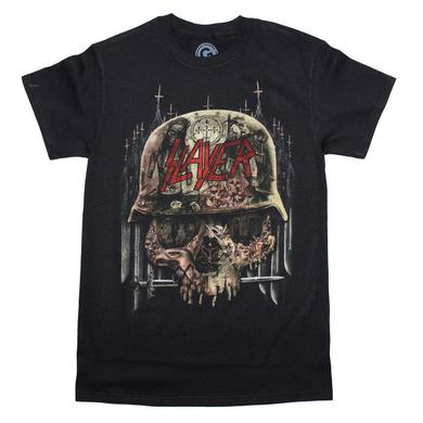 Slayer T Shirt | Slayer Skull Collage T-Shirt
