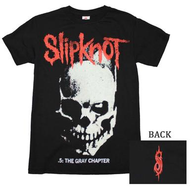 Slipknot T Shirt | Slipknot Skull and Tribal T-Shirt
