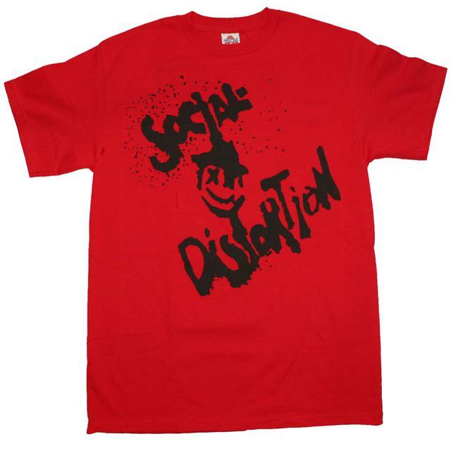Social Distortion T Shirt   Social Distortion Happy Face T-Shirt
