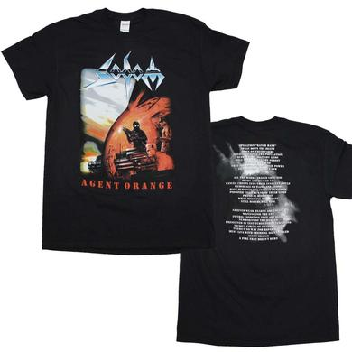 Sodom T Shirt | Sodom Agent Orange T-Shirt