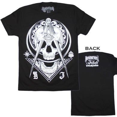Tattoo Culture T Shirt   Steadfast Brand Not So Secret Society Tattoo Skull T-Shirt