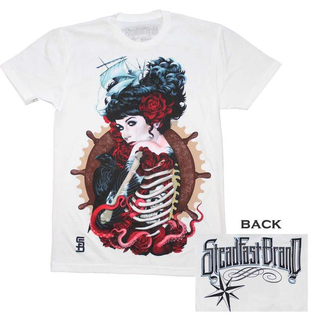 Tattoo Culture T Shirt | Steadfast Brand Sailor's Ruin Tattoo Art T-Shirt