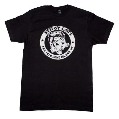 Stray Cats T Shirt | Stray Cats Established 1979 T-Shirt