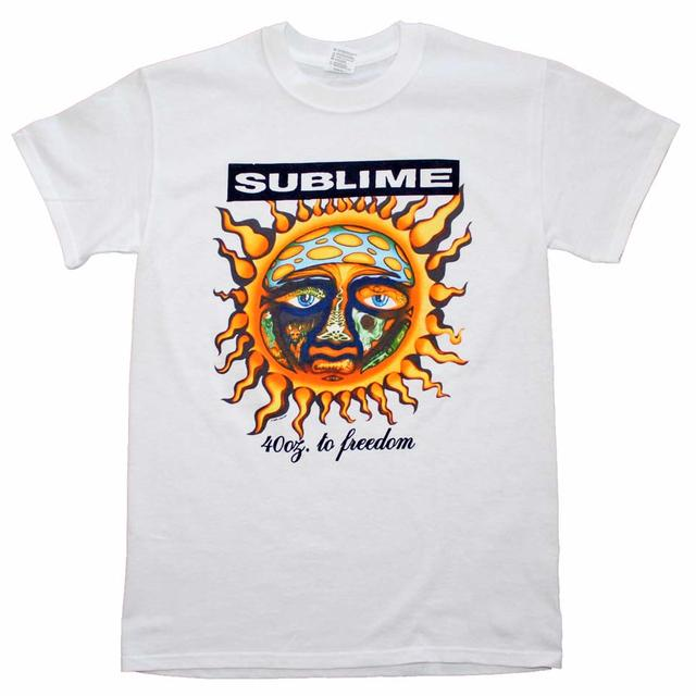 Sublime T Shirt | Sublime 40 oz to Freedom T-Shirt