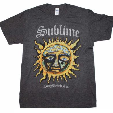 Sublime T Shirt | Sublime Logo Stamp Sun Soft T-Shirt