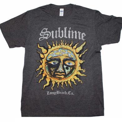 Sublime T Shirt   Sublime Logo Stamp Sun Soft T-Shirt