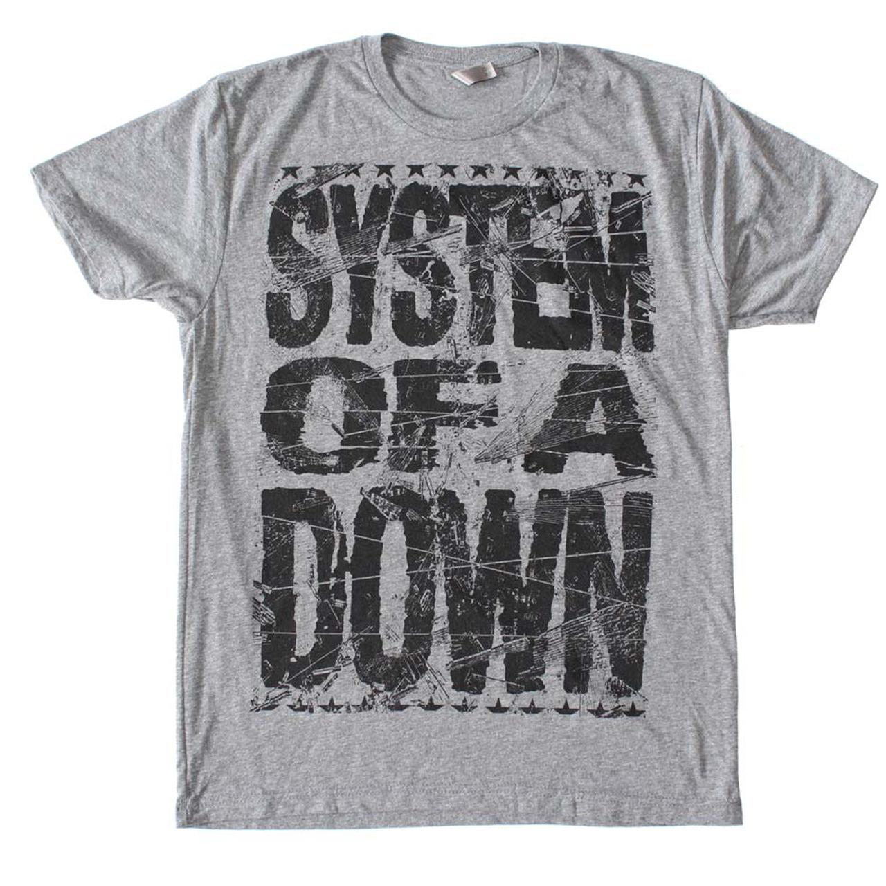 system of a down t shirt system of a down shattered t shirt. Black Bedroom Furniture Sets. Home Design Ideas