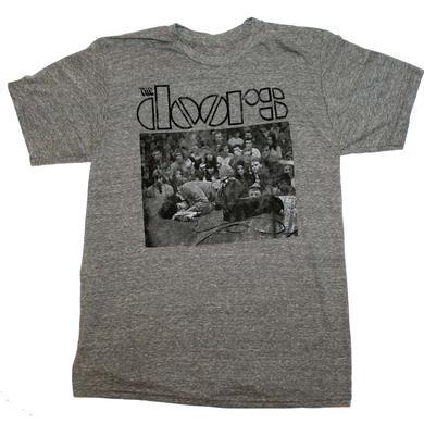 The Doors T Shirt   The Doors Jim Floor Triblend T-Shirt