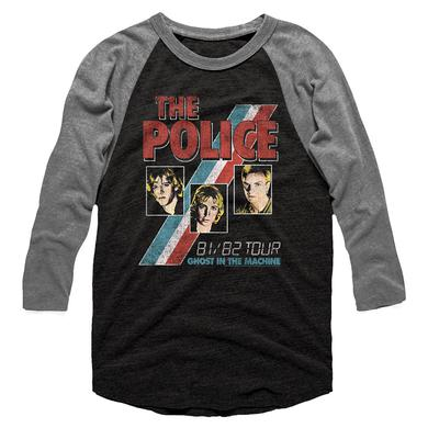 The Police T Shirt | The Police Ghost In The Machine Long Sleeve T-Shirt