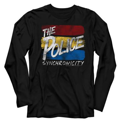 The Police T Shirt | The Police Sync Inverted Long Sleeve T-Shirt