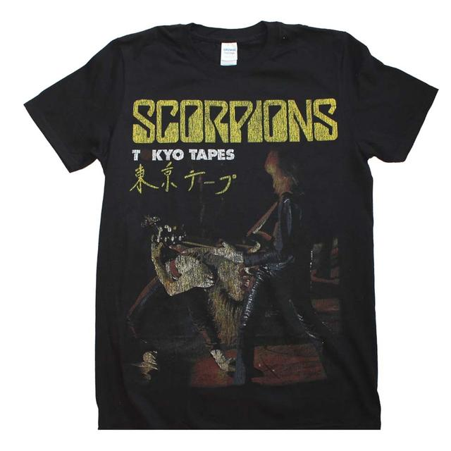 The Scorpions T Shirt | The Scorpions Tokyo Tapes T-Shirt