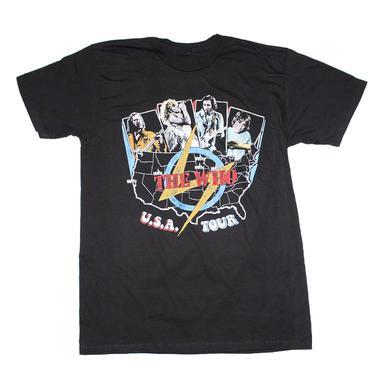 The Who T Shirt | The Who USA Tour T-Shirt