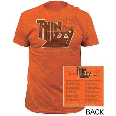 Thin Lizzy T Shirt | Thin Lizzy 79 Tour T-Shirt