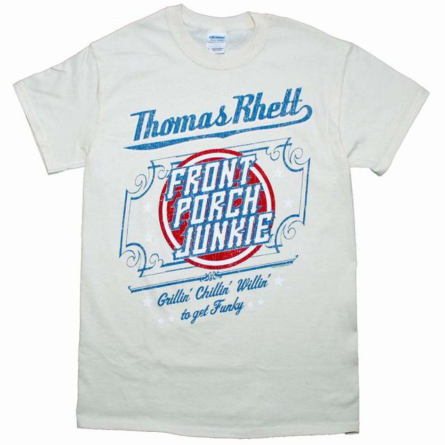 Thomas Rhett T Shirt   Thomas Rhett Front Porch Junkie Country T-Shirt