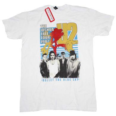 U2 T Shirt | U2 Bullet the Blue Sky T-Shirt