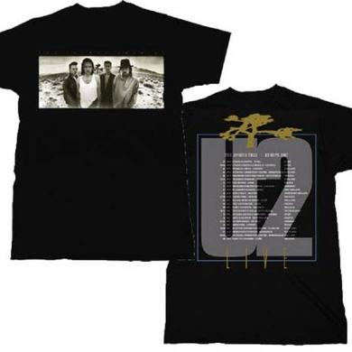 U2 T Shirt | U2 Joshua Tree European Tour T-Shirt