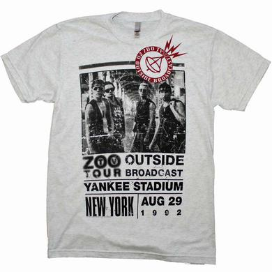 U2 T Shirt | U2 Outside Zoo Tour Slim Fit T-Shirt