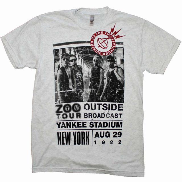 U2 T Shirt | U2 Outside Zoo Tour Slim Fit T-Shirt