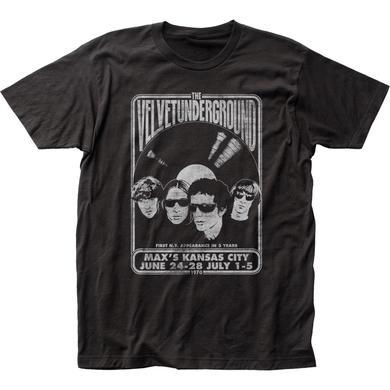 Velvet Underground T Shirt | Velvet Underground Velvet Vinyl T-Shirt
