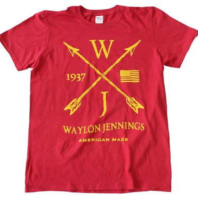 Waylon Jennings T Shirt | Waylon Jennings Arrows T-Shirt