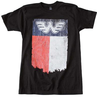 Waylon Jennings T Shirt | Waylon Jennings Flag T-Shirt