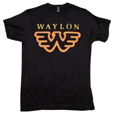 Waylon Jennings T Shirt   Waylon Jennings Flying W T-Shirt
