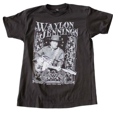Waylon Jennings T Shirt | Waylon Jennings Portrait T-Shirt