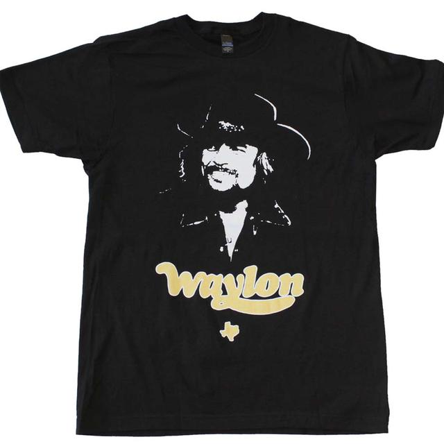 Waylon Jennings T Shirt | Waylon Jennings Texas T-Shirt