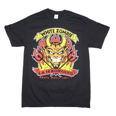 White Zombie T Shirt | White Zombie Devil Music T-Shirt
