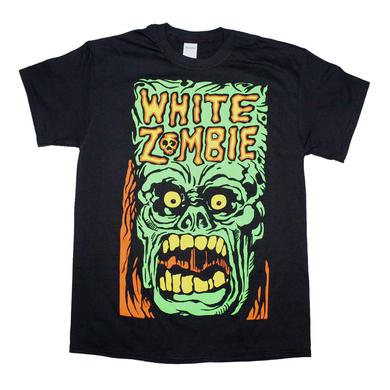 White Zombie T Shirt | White Zombie Monster Yell T-Shirt