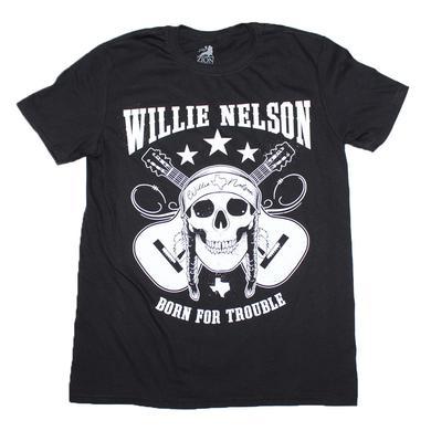 Willie Nelson T Shirt   Willie Nelson Skull T-Shirt