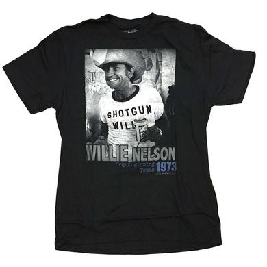 Willie Nelson T Shirt | Willie Nelson Texas 1973 T-Shirt