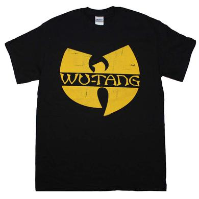Wu Tang Clan T Shirt | Wu Tang Clan Classic Yellow Logo T-Shirt