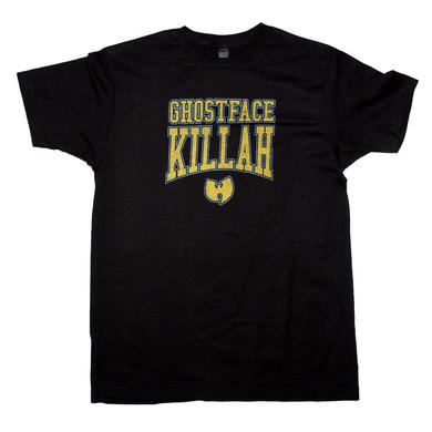 Wu Tang Clan T Shirt | Wu Tang Clan Ghost Face Killah Logo T-Shirt