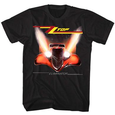 ZZ Top T Shirt | ZZ Top Eliminator Cover T-Shirt