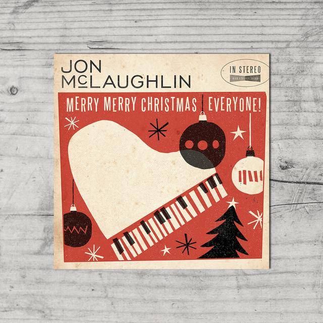 Jon McLaughlin Merry Merry Christmas Poster