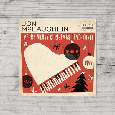Jon McLaughlin Merry Merry Christmas Poster