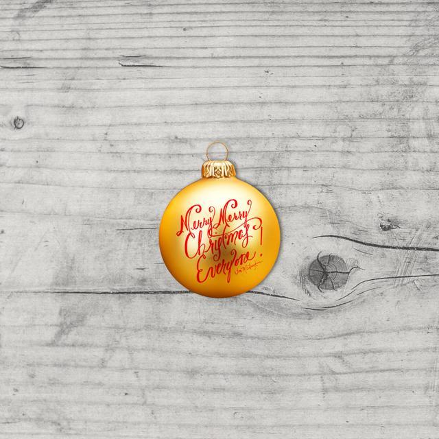 Jon McLaughlin Autographed Christmas Tree Ornament