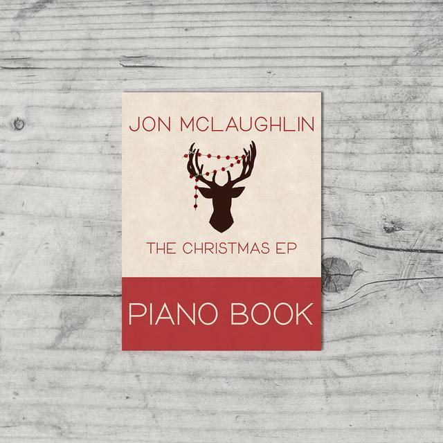 Jon McLaughlin The Christmas EP - Physical Piano Book (Vinyl)