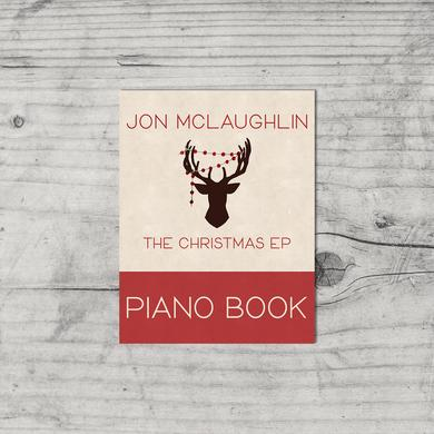 Jon McLaughlin The Christmas EP - Physical Piano Book