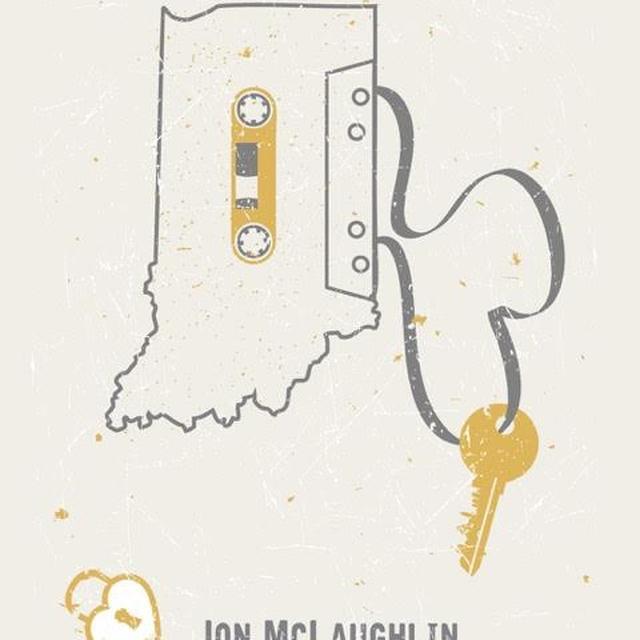 Jon McLaughlin Like Us Tour Poster - Indianapolis Show