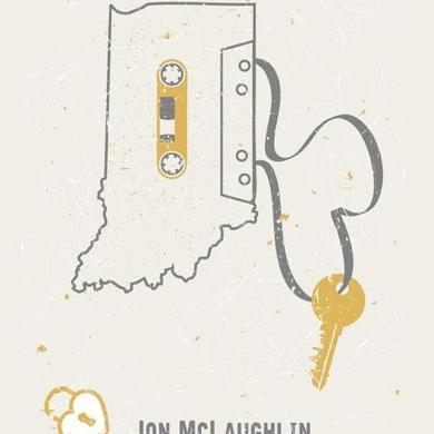 Jon McLaughlin Like Us Tour Poster - Indianapolis Show