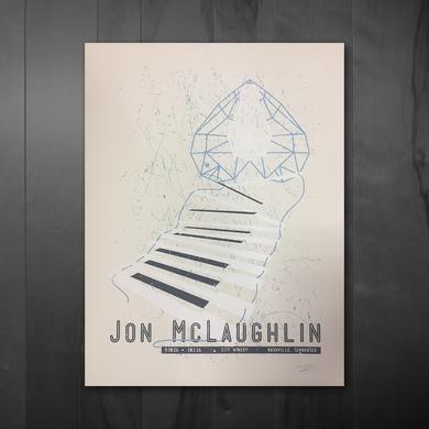 Jon McLaughlin Tour Poster - City Winery: Nashville, TN