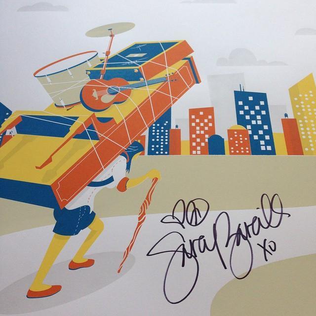 Sara Bareilles Brave Enough Tour Poster