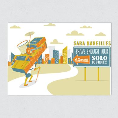 Sara Bareilles Brave Enough Tour Poster