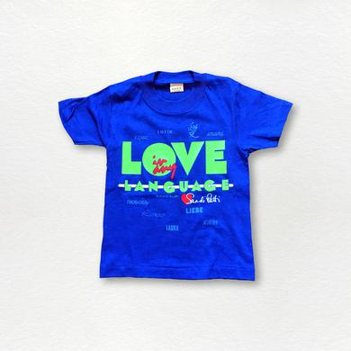 Sandi Patty Love In Any Language Kid's Tee