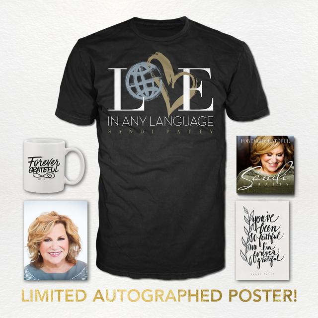 Sandi Patty Forever Grateful Bundle #4