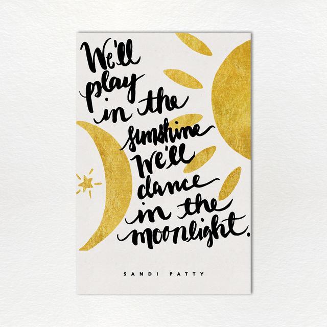 Sandi Patty Monthly Lyric Print: April