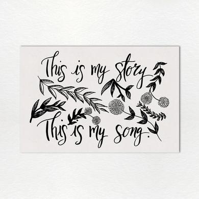 Sandi Patty Monthly Lyric Print: August
