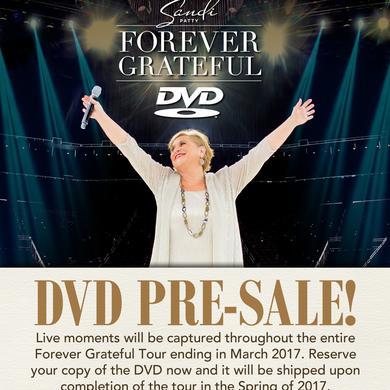 Sandi Patty Pre-Order: Forever Grateful DVD
